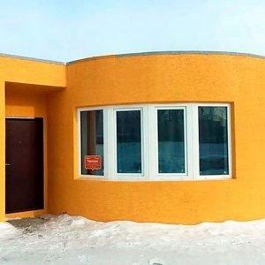 Дом, построенный 3D Принтером за двадцать четыре часа
