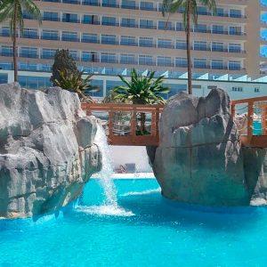 Открытие развлекательного бассейна в отеле Sol Barbados на Майорке