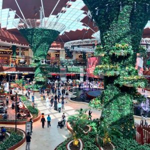 Открытие Mall of Qatar