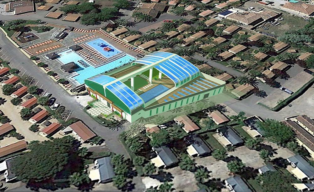 Новый аквапарк для кемпинга Ле Фаррет