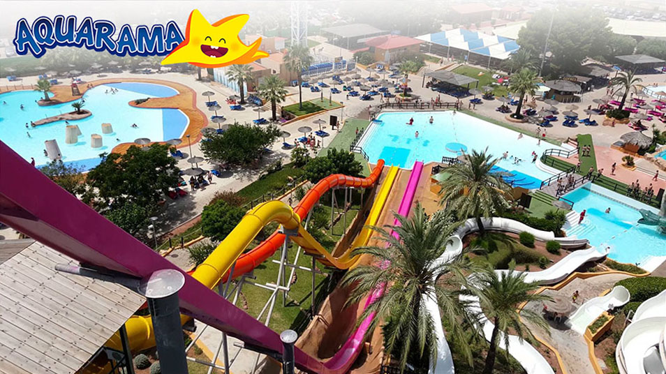 Аквапарк Aquarama Беникассим, Кастельон
