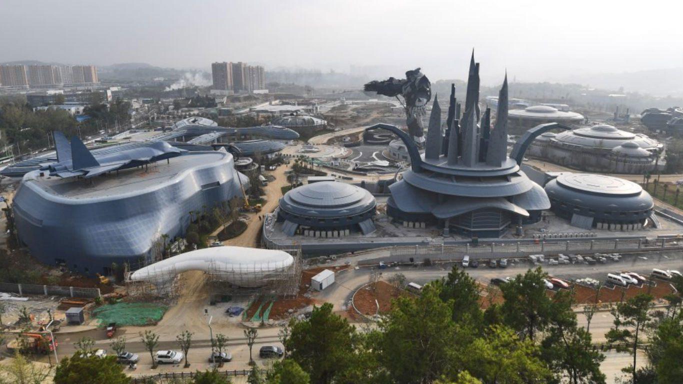 Китай строит самый большой в мире научно-фантастический тематический парк