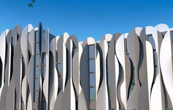 Кожа здания: новый кинетический фасад