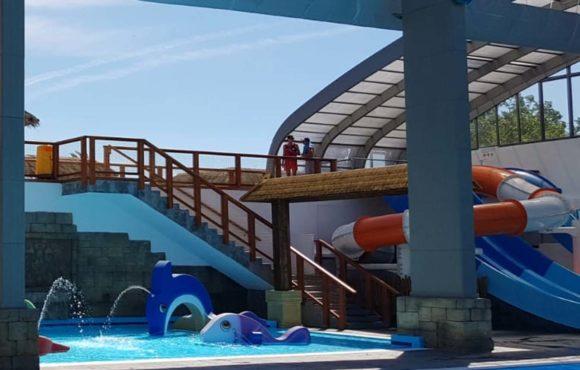 Завершено строительство и открыт новый аквапарк в кемпинге Le Farret