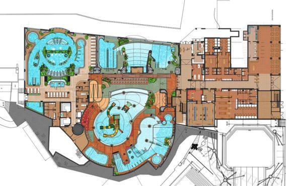 Продвигается проект первого на Иберийском полуострове крытого аквапарка