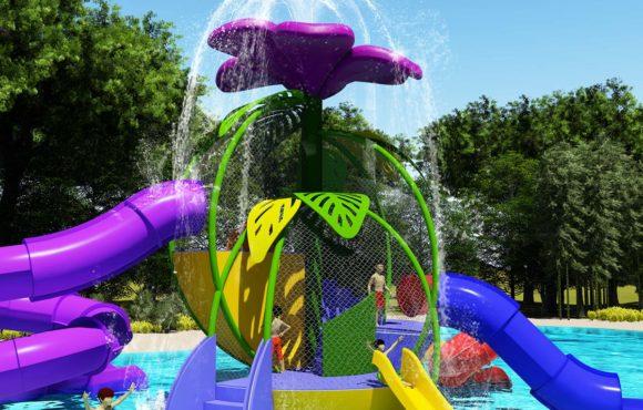 Adventure Flower, новый интерактивный водный парк