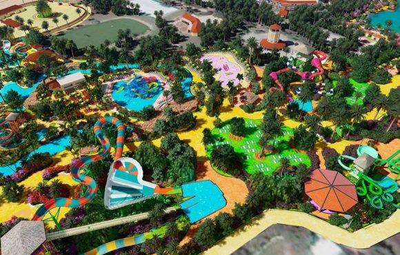 Полная перестройка аквапарка Shankus