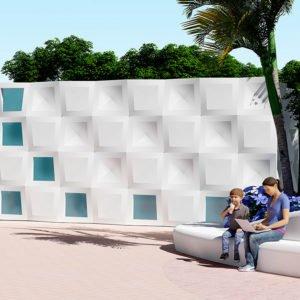 Новая модульная система для фасадов: гармоничный ритм и структурное единообразие.