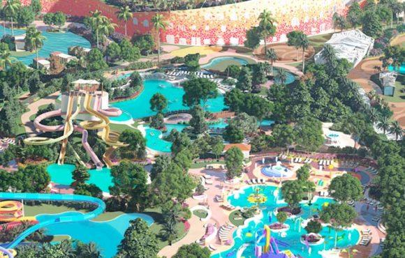 Новый отель с аквапарком в Кот-д'Ивуар.