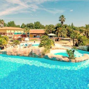 La Sirène, самый красивый аквапарк из французских кемпингов.