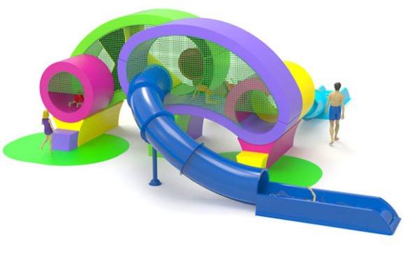 O-PLAY: Игровые комплексы необычной формы
