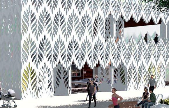 Светорегулирующая облицовка зданий