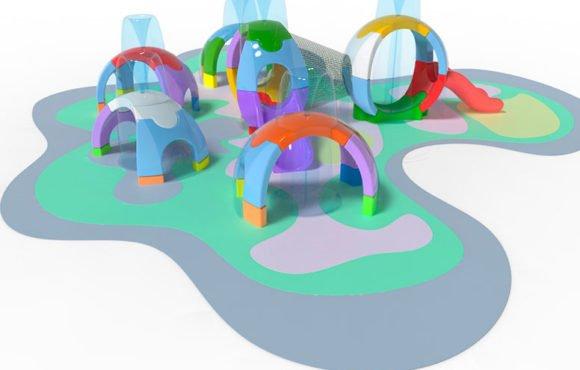 Espherium: новые детские аттракционы для развлекательного комплекса Splash Pad