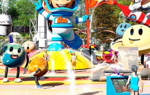 Детские водные аттракционы «KidzMondo SplashPad»