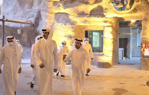 Визит эмира в Salwa Beach Resort