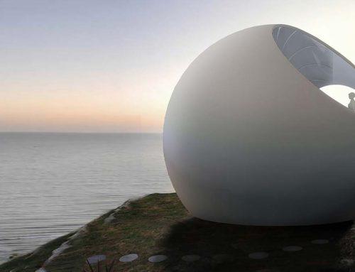 Сферический сборный дом
