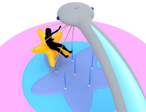 Splash Swing: качели на воде