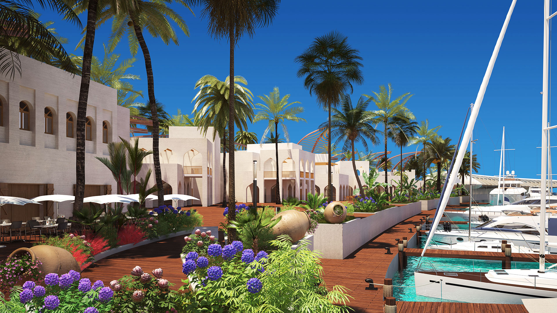 Проект гостиничного комплекса курорта