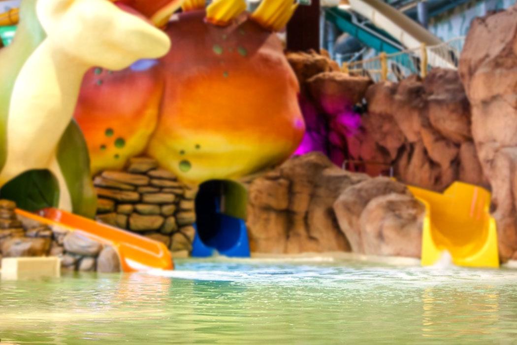 Фигуры 3D-Tech в аквапарке в Уфе